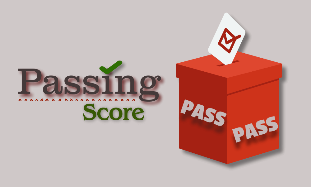Passing Score for the PMP Examination c
