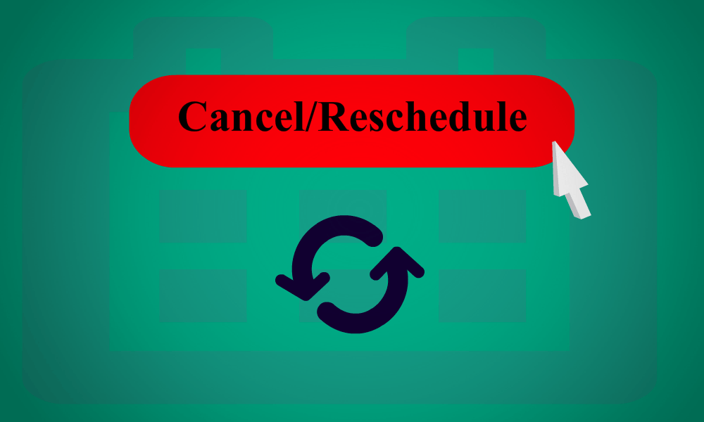 Image result for reschedule