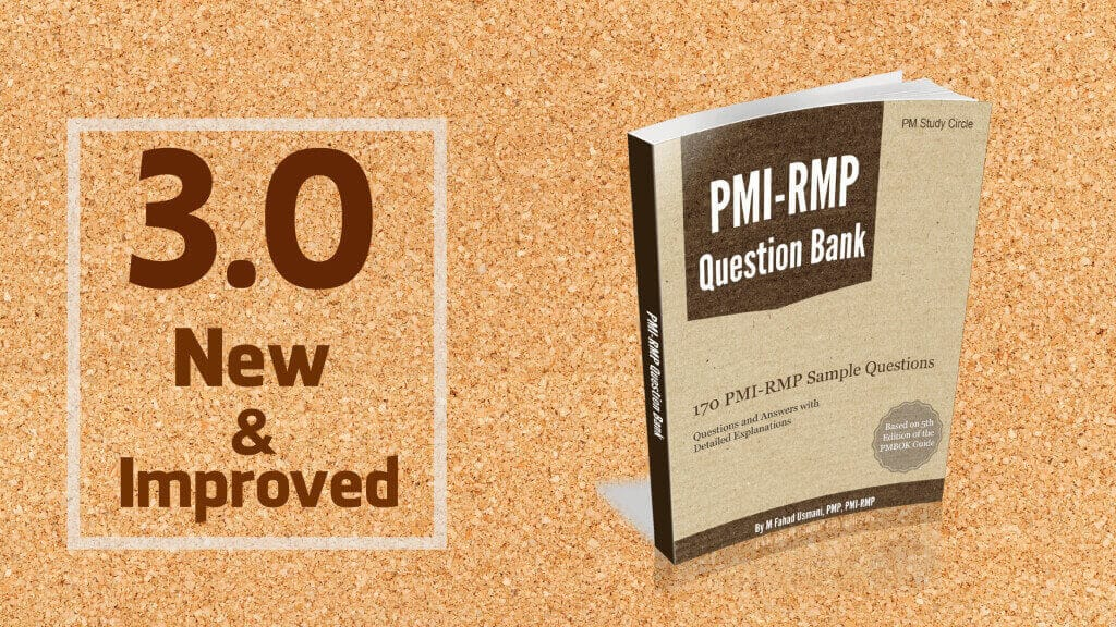 PMI-RMP Question Bank: Version 3.0 is Available Now!